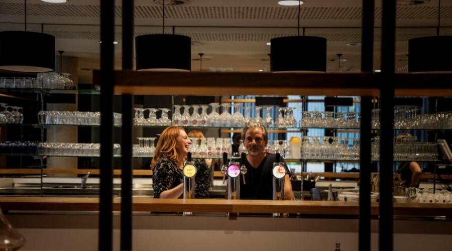 Opening eetcafé De Factorij