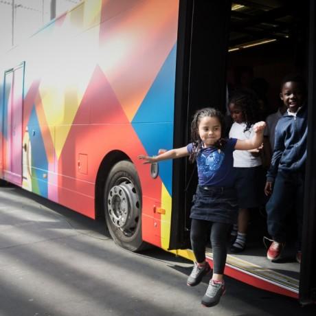 De bus met benen